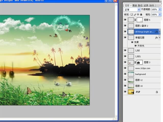 photoshop简单制作相册模板(2)