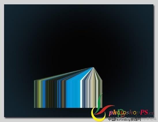 PS拉伸与透视简单制作三维效果 2