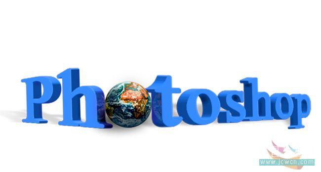 photoshop打造常见的立体透视文字