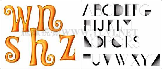 例如下图海报设计中,运用笔画粗细的变化,使两张海报分别表达出了