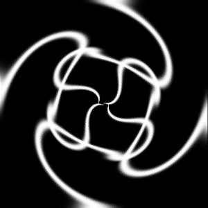 PS滤镜制作旋转光环效果 3
