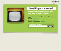 创意的网页404错误页面欣赏(70P)