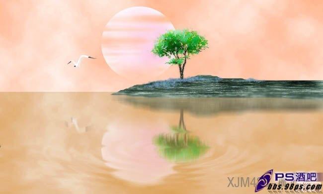 水彩画教程水彩画春天风景水彩画风景风景水彩