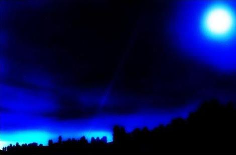 ps画笔为夜景图片添加闪闪星光效果