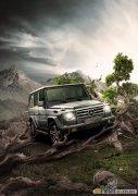 photoshop设计制作越野汽车广告海报
