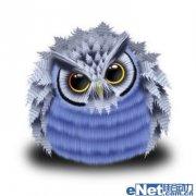photoshop绘制可爱的卡通猫头鹰