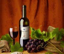 PS贴葡萄酒标志习作与方法分享