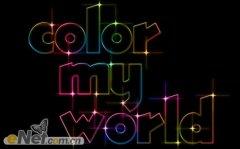 PS制作一款漂亮的的彩色文字字体效果
