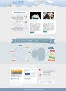 PS设计整洁漂亮的网页页面布局和背景