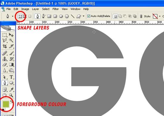 Photoshop制作溶解的平面字体效果