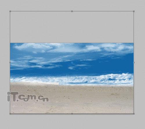 PS合成幻想世界中的沙滩美女