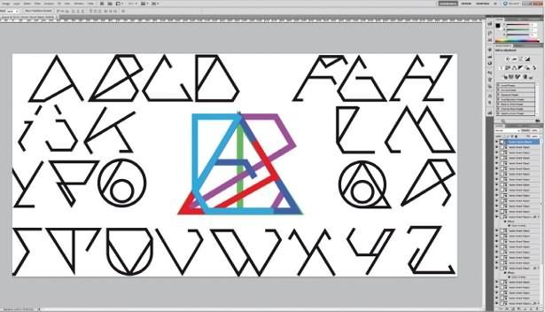 PS液化工具设计创建独特的字体