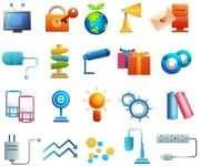 常见的生活用品和工具图标