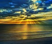海上日出壁纸