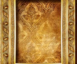 黄金质感相框