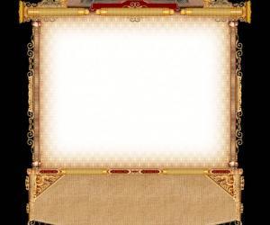 一张中国古典风格边框
