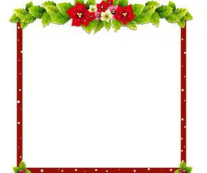 简单精美的圣诞相框