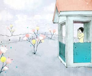 韩国精美卡通艺术插画
