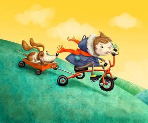 KimberleyPope的儿童卡通插画作品