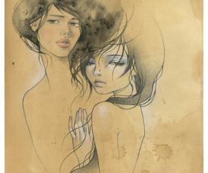 个性的AudreyKawasaki后现代艺术插画