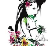 简洁时尚的Nadia插画作品