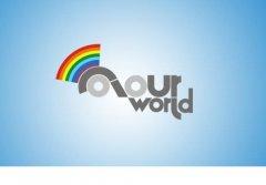 AOURWORID彩虹标志