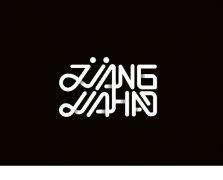 JJANA英文字体logo